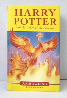 """It's a win-win deal. This copy of """"Harry Potter and the and the Order of the Phoenix"""" is a first edition. We photograph all our b ooks and patterns so you can see exactly what you'll receive when you order from us."""