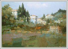 """Demo """"Casas en una colina de Toscana"""" PARTE 2 """"La pintura que se borro"""""""