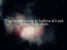 It'll always be okay