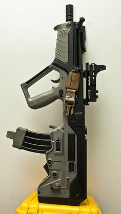 /// IMI Tavor TAR-21 /// I chose this due to its short size, full sized barrel, ambidex capability, mag and ammo accessibility and rugged piston design.