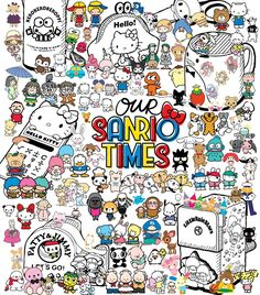 Sanrio Hello Kitty Art, Hello Kitty Tattoos, Sanrio Hello Kitty, Hello Hello, Hello Kitty Imagenes, Sanrio Wallpaper, Hello Kitty Pictures, Line Friends, Sanrio Characters