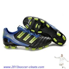 low priced fcf80 1e9bb Authentic Adidas Predator XI TRX FG Boots Black Cyan Green Football Boots  Adidas Shoes, Nike
