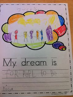 Ideas For Kindergarten - Martin Luther King Jr. Ideas For Kindergarten - Martin Luther King Jr. Ideas For Kindergarten - Martin Luther King Jr. Ideas For Kindergarten - Mlk Jr Day, King Jr, Martin Luther King Day, In Kindergarten, School School, School Stuff, Social Studies, History Activities, Teaching History