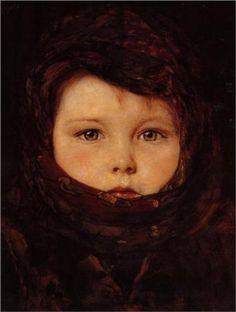 Little Girl - Nikolaos Gyzis