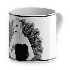 Burlesque Mug Gigi