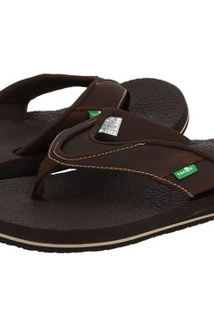 Sanuk Beer Cozy Primo (Brown) Men's Sandals - Sanuk, Beer Cozy Primo, SMS2468-BRN, Men's Casual Sandals Sandals, Thongs/Flip-Flops, Casual Sandal, Open Footwear, Footwear, Shoes, Gift - Outfit Ideas And Street Style 2017
