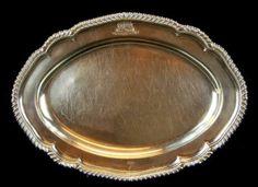 Found on EstateSales.NET: George III Sterling Platter c.1812