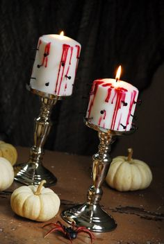 Tortured Candles | Family Chic by Camilla Fabbri ©2009-2012. All rights reserved. The blog