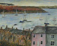 Evening Light, Falmouth by Scottish Contemporary Artist Stephanie DEES