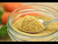 Getrocknete Gemüsebrühe selber machen / Gekörnte Gemüsebrühe / Gewürzsalz/DIY Vegetable Broth Powder - YouTube