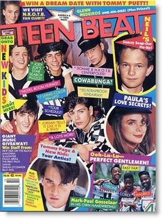 Tiger Beat...I so KNOW I had this issue!! It was PLASTERED on my walls!!!!