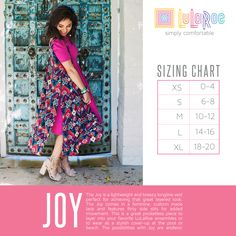 3d0969bbe8058 LuLaRoe s Joy is a great layering piece and is available in a variety of  patterns and
