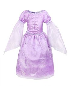 ReliBeauty Little Girls Princess Rapunzel Dress Costume (2T-3T, Purple)