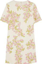 Giambattista ValliFloral-print stretch-crepe mini dress