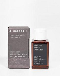 Korres – Aftershave mit Safran Amber Agarwood & Cardamom 50ml