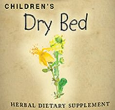 Childrens Dry Bed Formula Liquid Herbal Tincture for Bed Wetting Bed Wetter Natural Homeopathic Gentle Remedy