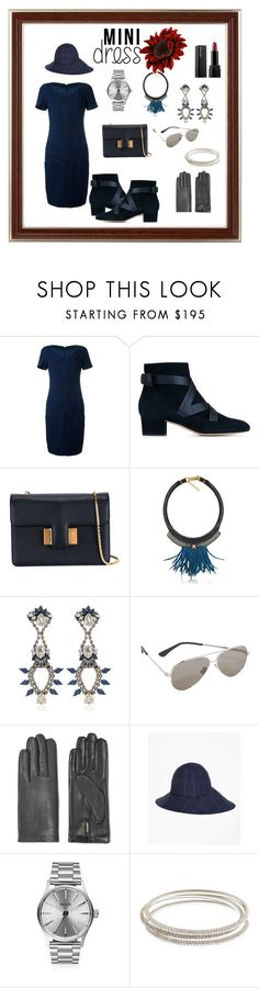 """""""Mini dress ☺️☺️☺️"""" by jamuna-kaalla ❤ liked on Polyvore featuring Chanel, Jimmy Choo, Tom Ford, Fiona Paxton, Anton Heunis, Yves Saint Laurent, AGNELLE, Brooks Brothers, Nixon and vintage"""