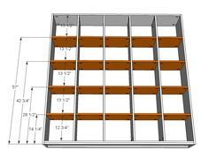 Ana White | Build a 5x5 Storage Cubbies | Free and Easy DIY Project and Furniture Plans