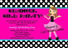 fashion show invitations templates