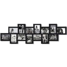 AdecoTrading 14 Opening Decorative Wall Hanging Collage Picture Frame
