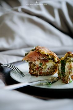 Savoury muffins with salmon / Marta Greber