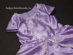 Como hacer un vestido de princesita sofia12