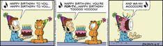 June 19, 2018 ~ Happy 40th Birthday, Garfield!