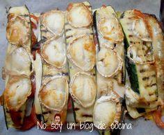 No soy un blog de cocina: MONTADITOS DE CALABACÍN