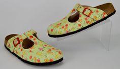 Birkenstock Papillio Women's Size 42 US 11 N Floral Mules Clogs #Papillio #Mules #Casual