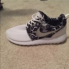 Nike training shoes Nike Roshe, size 7. Worn once. In perfect condition. Nike Shoes Athletic Shoes