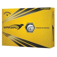 Designed for Distance.The Warbird Golf Ball is designed for distance and maximum flight from a high-energy core and a 2-piece design, along with a white or opt