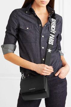 2938651d5ec Givenchy - Pandora Box mini leather shoulder bag
