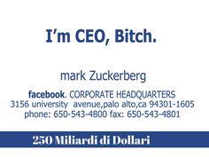 Facebook: 250 Miliardi di dollari