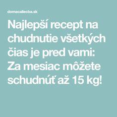 Najlepší recept na chudnutie všetkých čias je pred vami: Za mesiac môžete schudnúť až 15 kg! Detox, Food And Drink, Drinks, Canvas, Drinking, Drink, Beverage