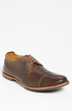 Very cool shoe! Timberland Boot Company 'Wodehouse Lost History' Cap Toe Oxford (Men) available at #Nordstrom