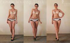 FEMALE - Walking Pose 16,17,18 by pyjama-cake on DeviantArt