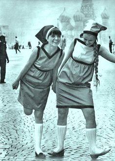 Moscow Fashion street style 1967