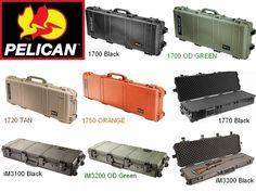 Pelican Storm Gun Long Protective Case 1750 -Black