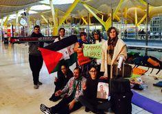 La senadora por la Comunidad Autónoma traslada el apoyo y solidaridad de CC a las personas que mantienen la huelga de hambre en la T4 Julios reclama una intervención urgente de Interior para que suspenda la orden de salida de Hassanna.