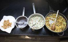 Distintos platos brasileños a base de legumbres