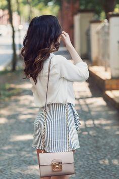 Ruffle Shorts // Summer Style