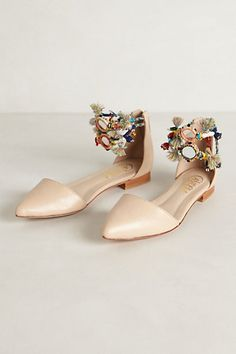 Ree D Orsays - anthropologie. good idea to embellish some of my D . Women  Oxford ShoesCrazy ... 2a9220eee