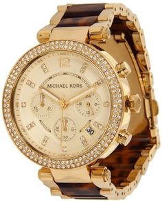 Relógio Michael Kors Watches Parker (Gold and Tortoise) Cheap Michael Kors, Handbags Michael Kors, Michael Kors Watch, Emporio Armani, Tortoise Watch, Tortoise Shell, Jewelry Accessories, Fashion Accessories, Gold Jewelry
