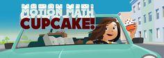 Motion Math Cupcake