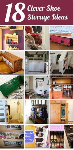 18 clever shoe storage ideas | Hometalk