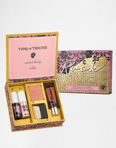 Rockitute! de Benefit Cosmetics. En el blog les platico todo sobre este lindo kit.