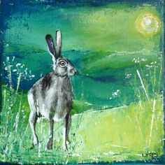 Startled hare.... Loopy