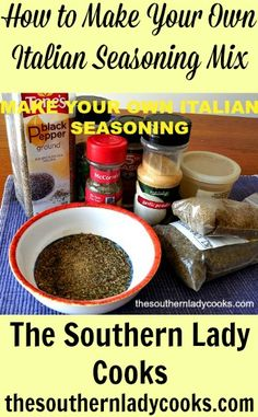 How to Make Your Own Italian Seasoning