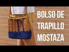 Bolso trapillo mostaza - YouTube