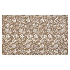Farmhouse Flooring VHC Lilianna Rug Cotton Floral - Flower Stenciled Enzyme Washed Rectangle - x (Khaki/Antique White), Green / Antique White, Flower Stencil, Rug Size, Cotton Rug, Floral Rug, Rugs, Farmhouse Flooring, Braided Rugs, Area Rugs, Carpet Stains